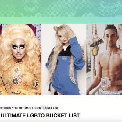 OutTV LGBTQ Bucket List