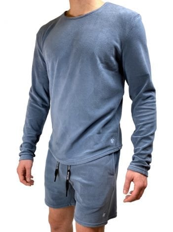 Dirt Squirrel Slate Grey Soft Lounge Shirt