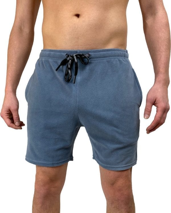 Dirt Squirrel Slate Grey Soft Lounge Short Front