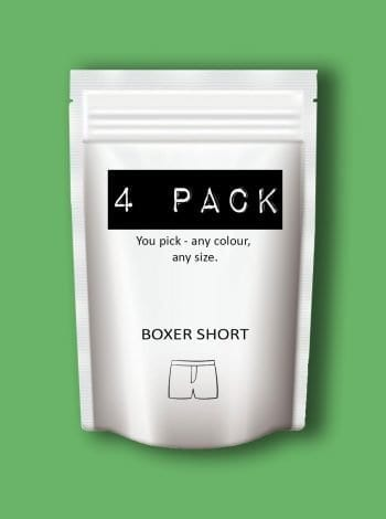Dirt Squirrel Boxer Short 4 Pack