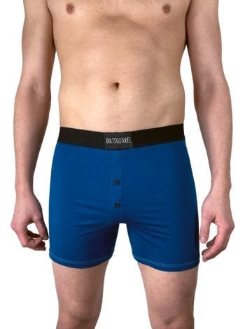 Dirt Squirrel Prussian Blue Boxer Short Front
