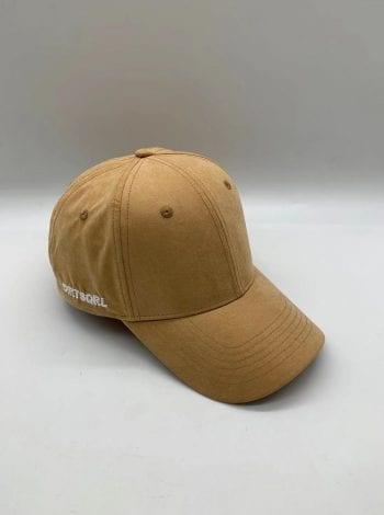 Camel Suede Dirt Squirrel SnapBack Front